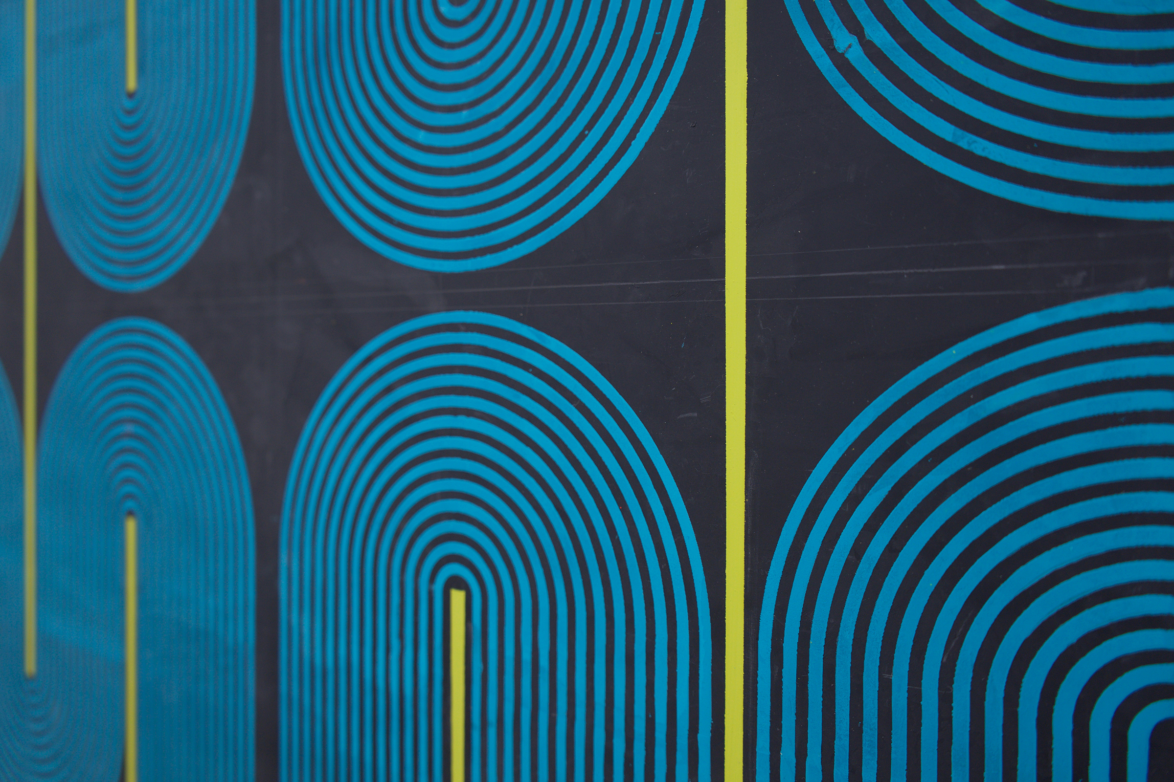 "ELISE FERGUSON (detail)  Terminal , 2019 pigmented plaster on MDF panel 40"" x 30"""