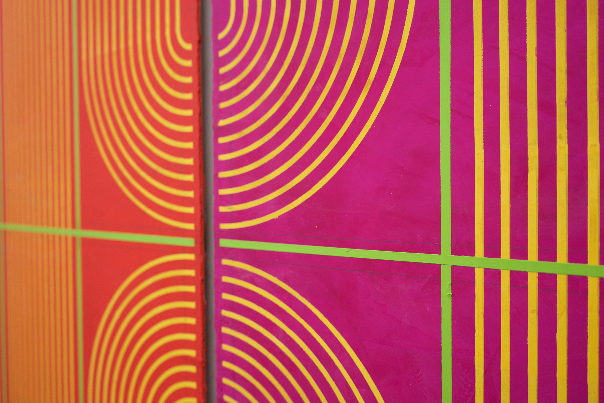 "ELISE FERGUSON (detail)  Triumph , 2019 pigmented plaster on MDF panel 40"" x 30"""