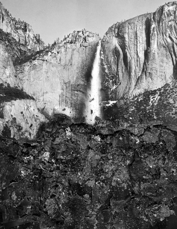 "BESSMA KHALAF  Burnout (Bridal Veil Falls) , 2019 Archival pigment print 14"" x 10"", Edition of 3 with 1AP"