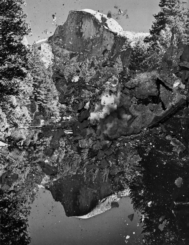 "BESSMA KHALAF  Burnout (Half Dome) , 2019 Archival pigment print 26"" x 20"", Edition of 3 with 1AP"