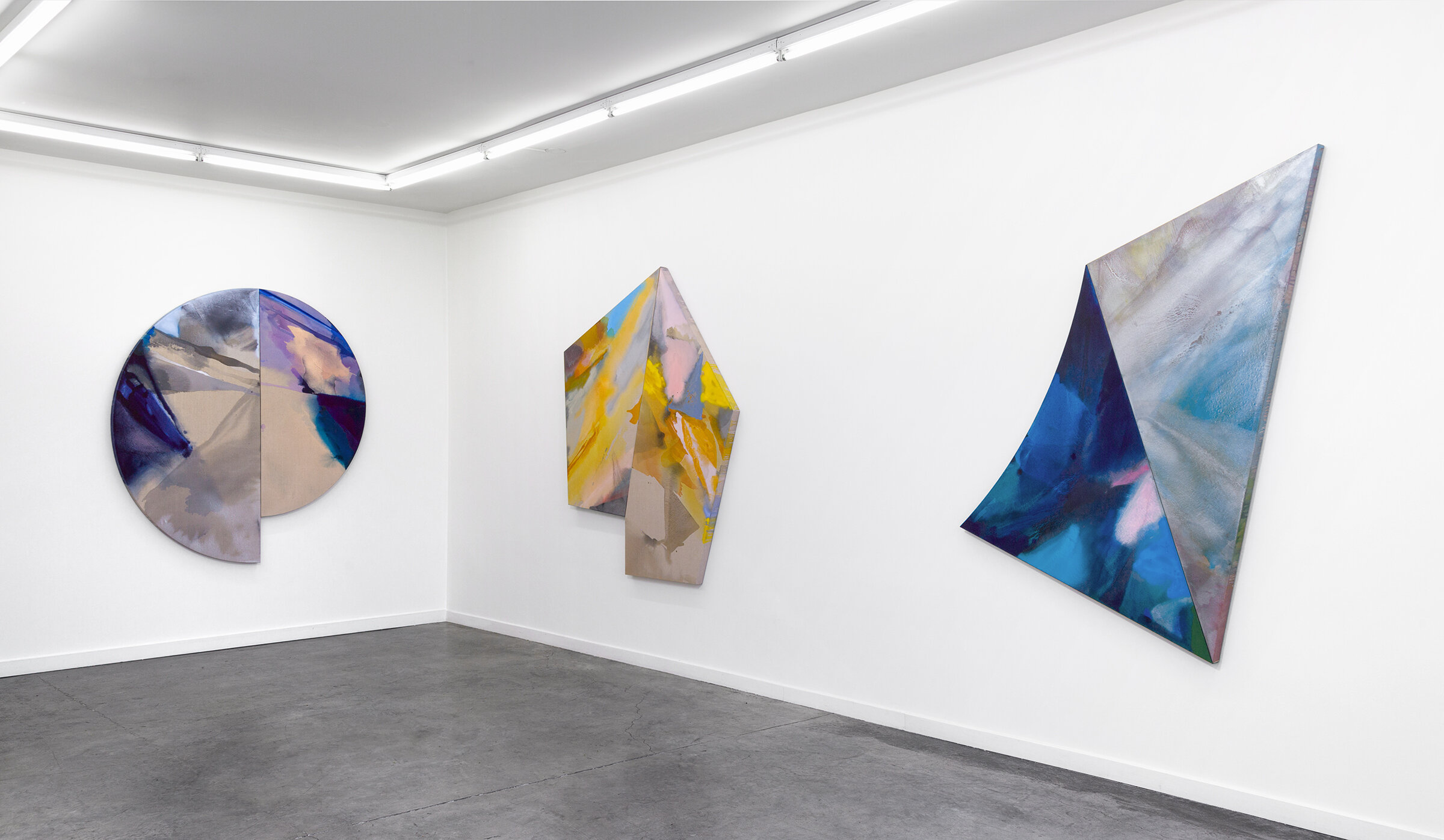 PAMELA JORDEN  Flowing, Falling, Still  Installation Image