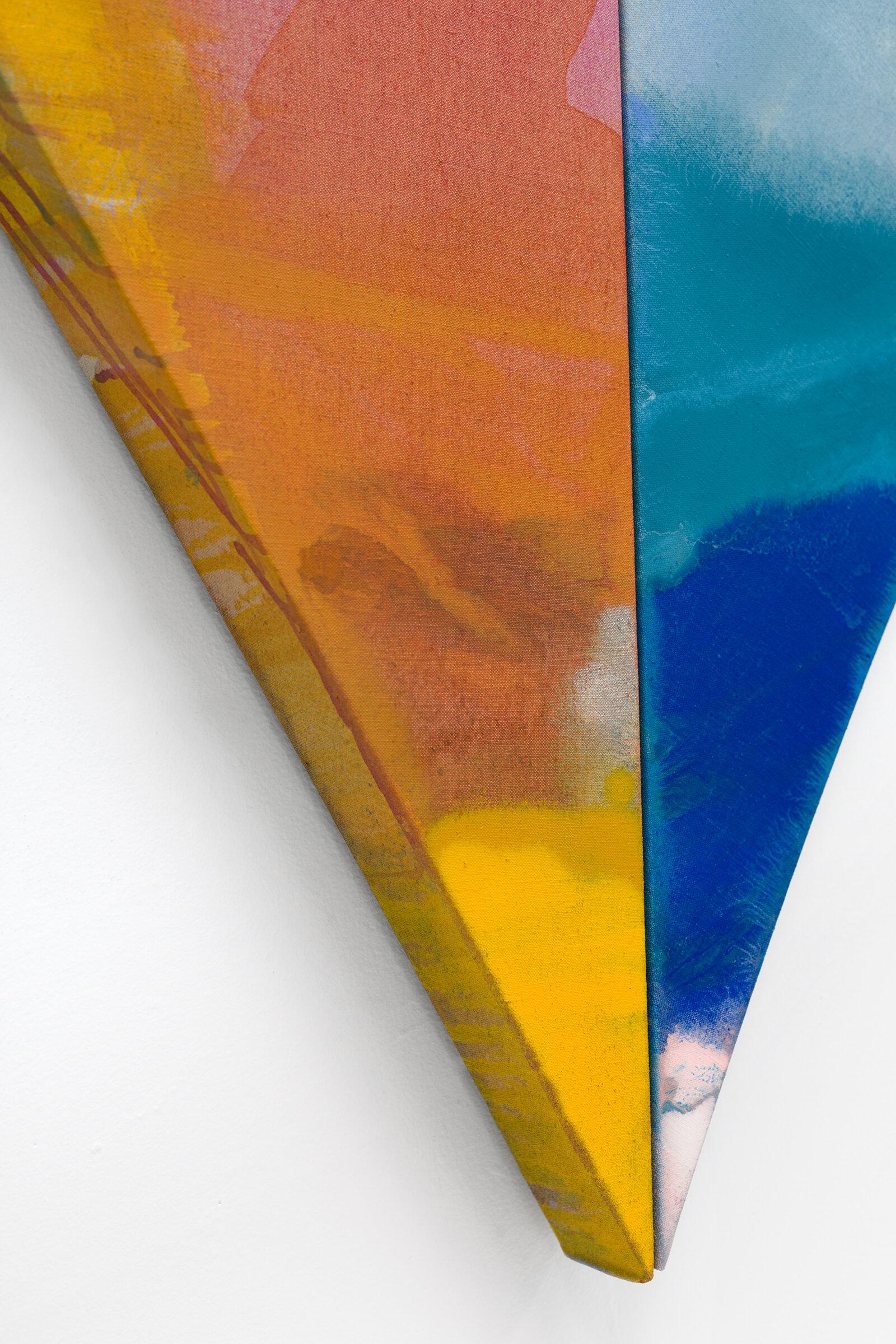 """PAMELA JORDEN (detail)  Pine , 2019 oil and acrylic on linen, 72.62"""" x 76.25"""""""