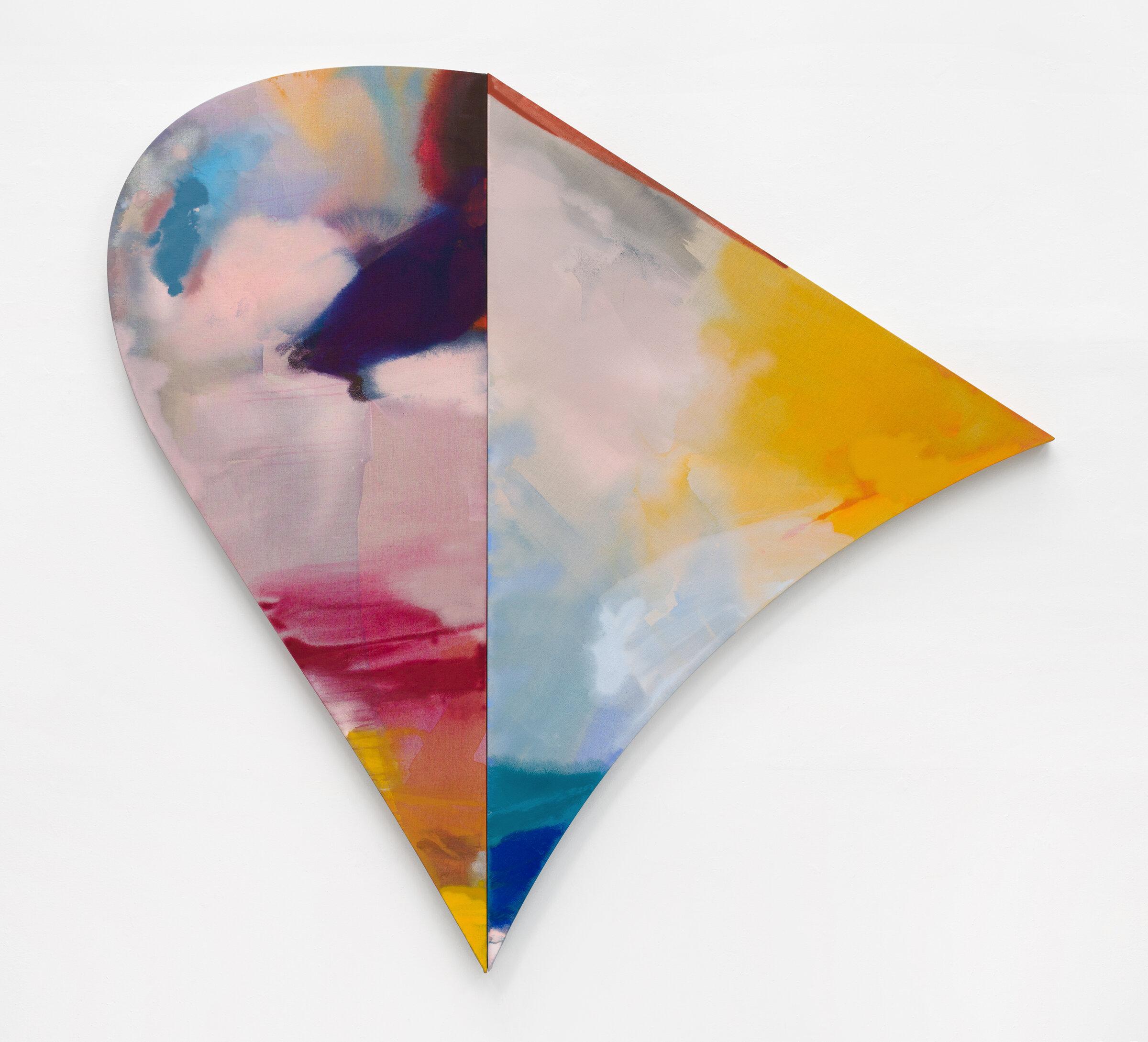 "PAMELA JORDEN  Pine , 2019 oil and acrylic on linen,  72.62"" x 76.25"""