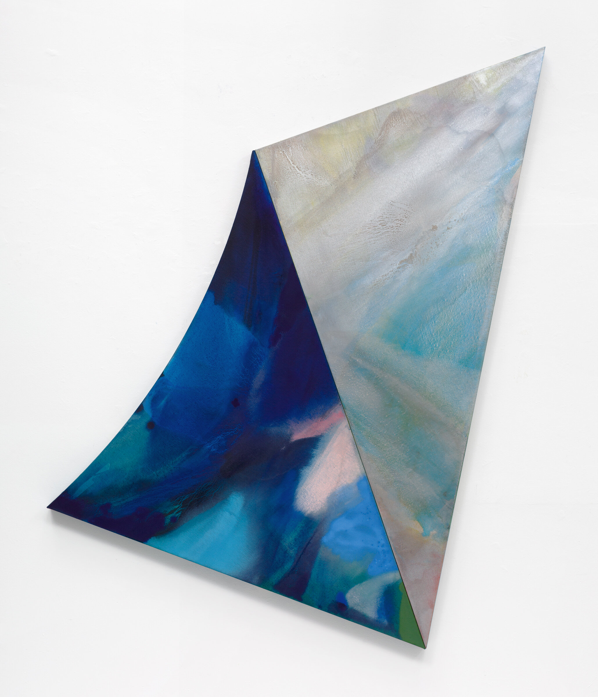 "PAMELA JORDEN  Silver Point , 2019 oil and acrylic on linen, 74"" x 61.25"""