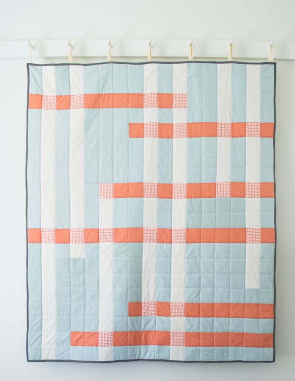 Crossroads Quilt for Purl Soho 2014