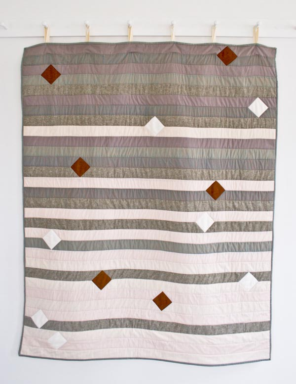 Agate Quilt for Purl Soho 2015