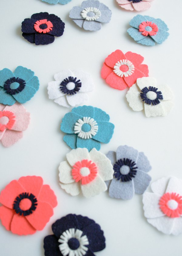 Anemone Magnents for Purl Soho 2013