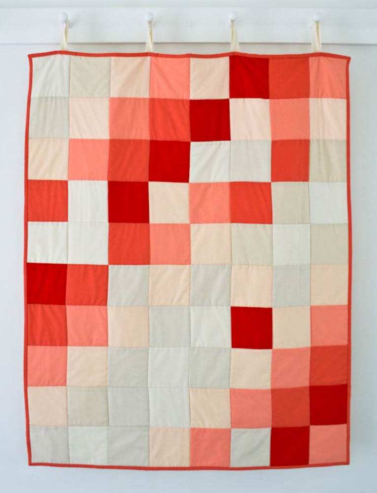 Learn to Sew a Patchwork Quilt Kit for Purl Soho 2015