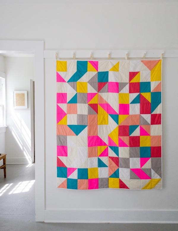 Modular Blocks Quilt for Purl Soho 2015