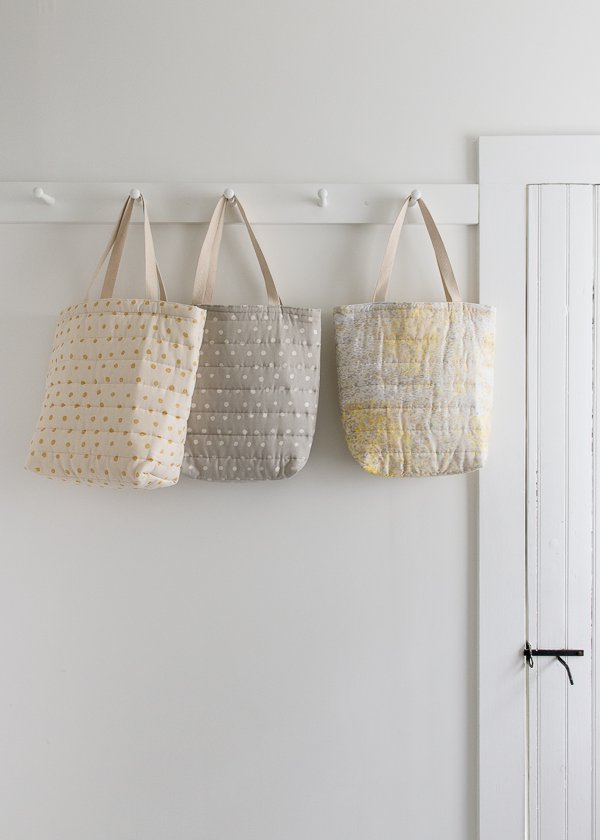 Puffy Tote for Purl Soho 2016