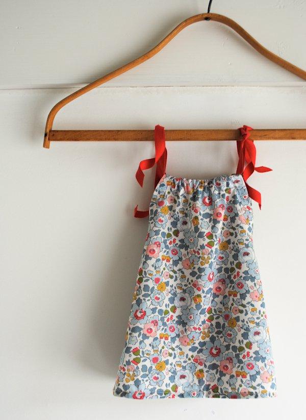 Tiny Triangle Dress for Purl Soho 2012