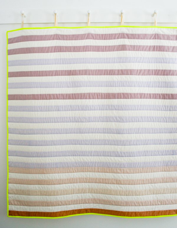 Watercolor Quilt for Purl Soho 2014