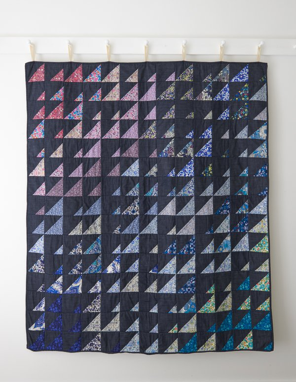 Prism Quilt for Purl Soho 2016