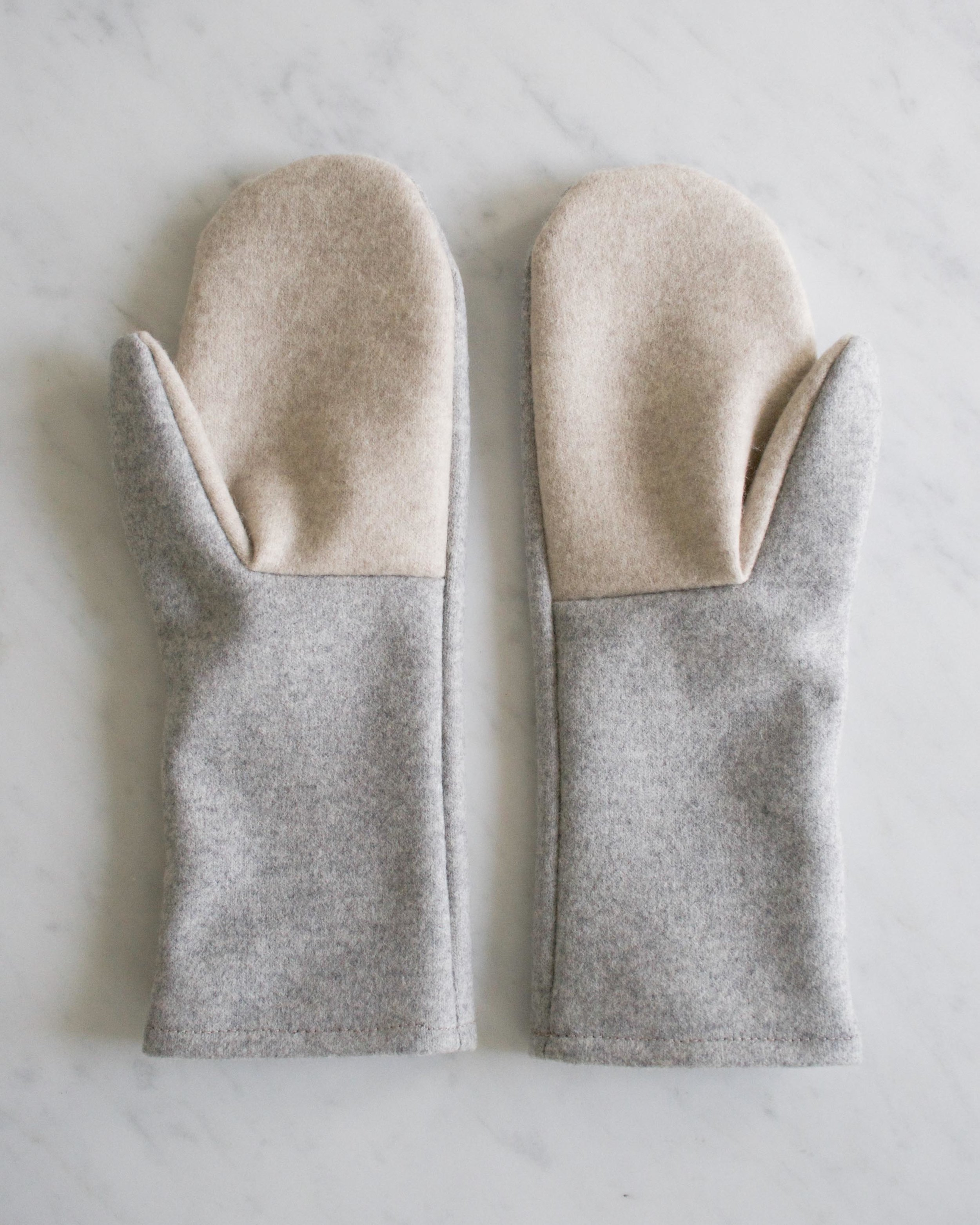Simple FeltedWool Mittens for Purl Soho 2015