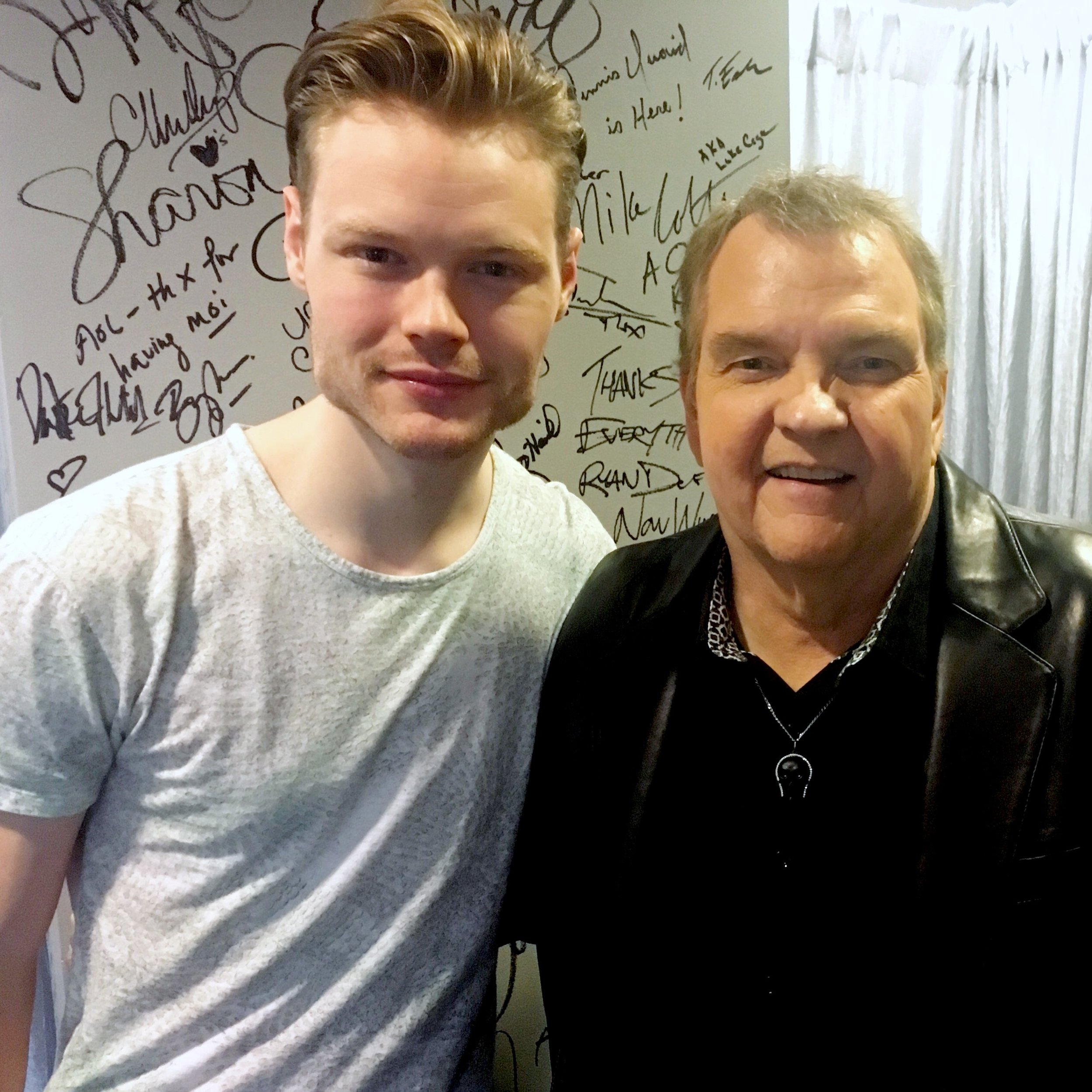with Meat Loaf