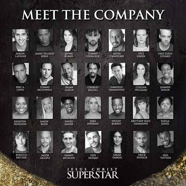 "What then to do about Jesus of Nazareth!? ...... folks, I'm going ON TOUR as ""Annas"" in @jesuschristsuperstar — we play a zillion US cities from The Kennedy Center to The Pantages. I'll be posting about each city as it comes — come check us out :) This is an awesome team from the London production and a lovely and talented cast. ✨🌟💫 . . . . . . . . . #jesuschristsuperstar #jcs #broadway #tour #equity #aea #rock #andrewlloydwebber #london #usa"