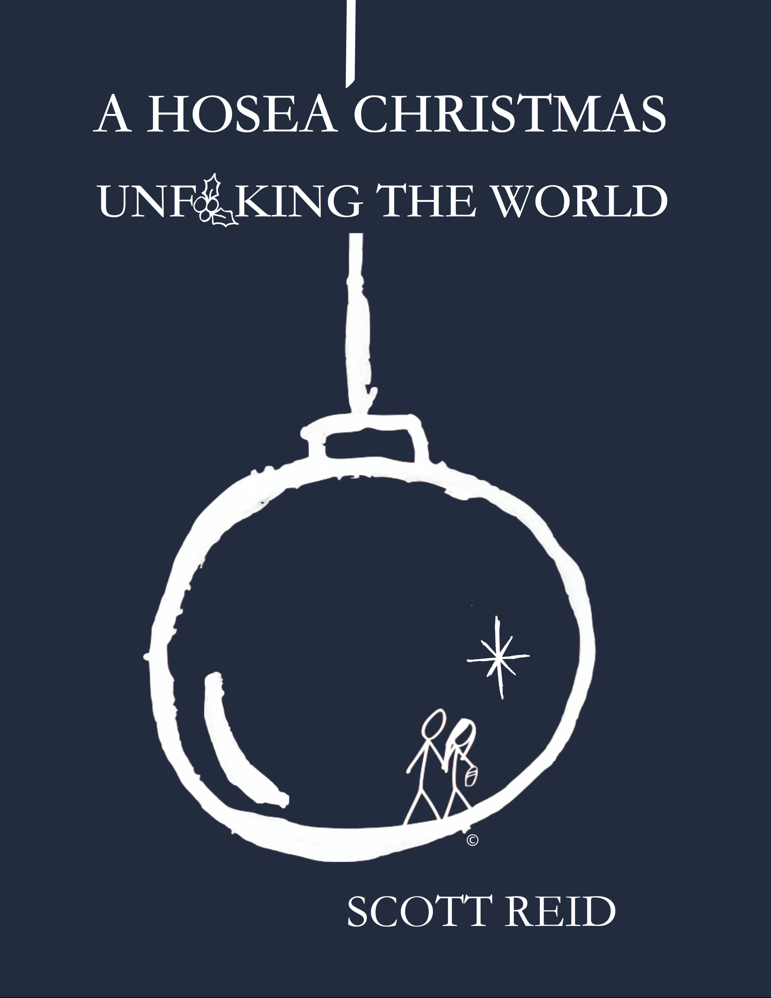 """Exclusively on Amazon now! - A Hosea Christmas, Unf**king the World takes the long view of the Christmas story. More than anything, it is a Gospel story. It is as visceral in the telling as it is in the living. Mankind has been and continues to be fornicated from the Divine Lover. The hurt and pain of our past––our present––our anxieties concerning the future, are the fruit of this. """"Long lay the world in sin and error pining"""" until Jesus appeared and unf––ked the world."""