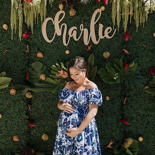 Some of my fave photos from @thedailycharliewu's shower. Had the best day feeling beyond blessed and grateful. 13 days left! Any guesses on when he's going to make his entrance?! 📸: @zean_coyprint  #thedailyjenny #babyshower #safaribabyshower #babybump #babylove #thirdtrimester #pregnantstyle #pregnantbelly #babyparty #thebump #whatoexpect #pregnantandperfect