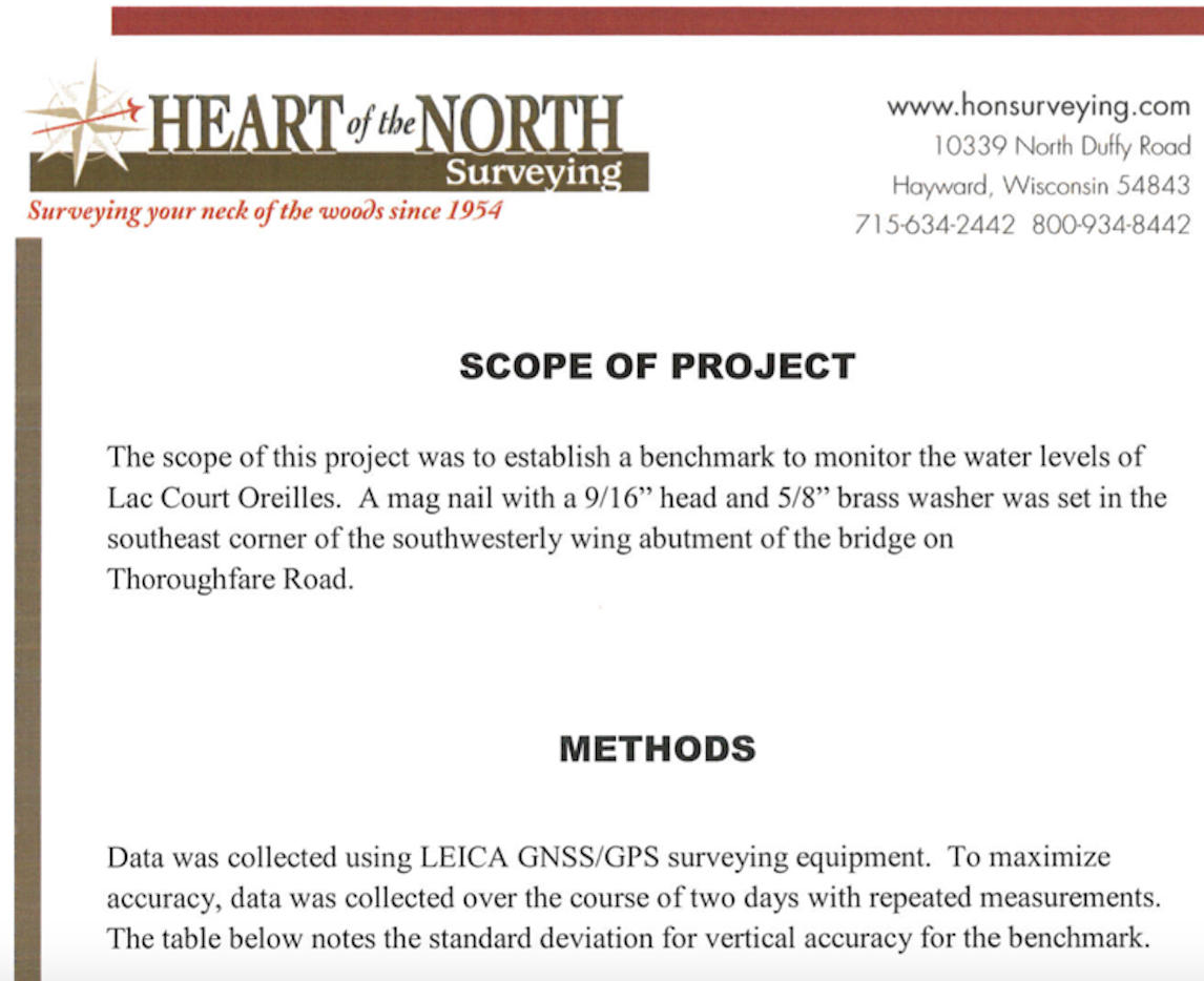 HIGH-WATER MARK PROJECT