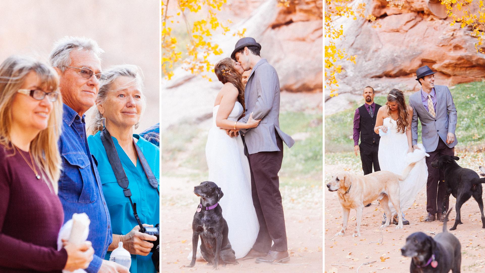 desert wedding photography arches national park moonflower canyon southwest