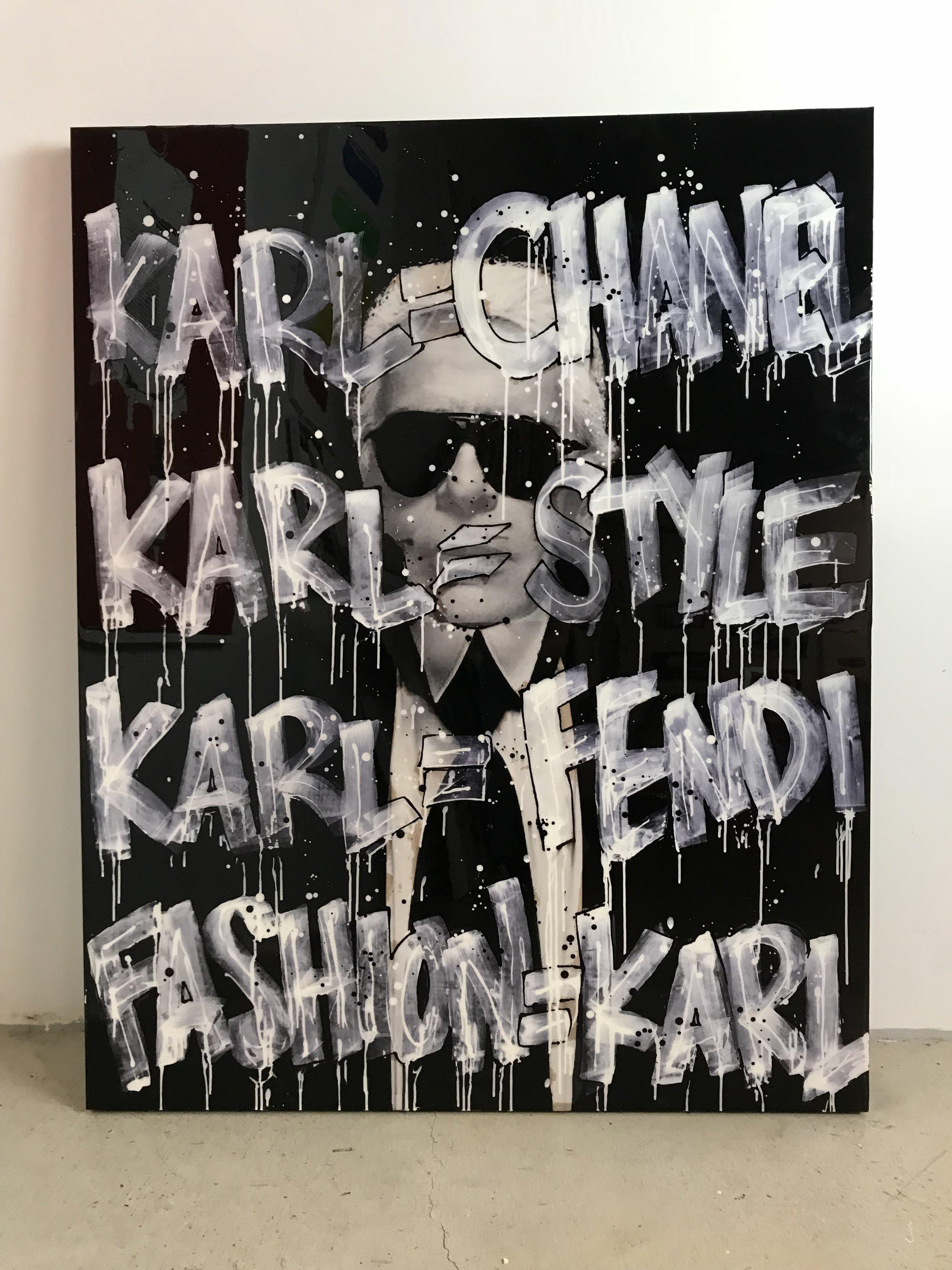 SOLD | Karl Is _ | Karl Lagerfeld | 48 x 60