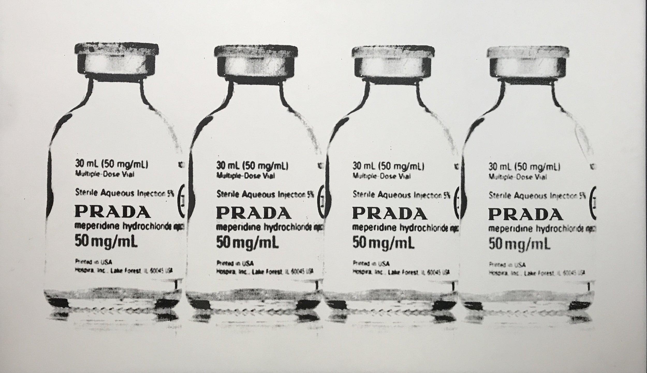 overdose 1/1 - 52 x 30.5 Acrylic on Canvas, Jul '17SOLD