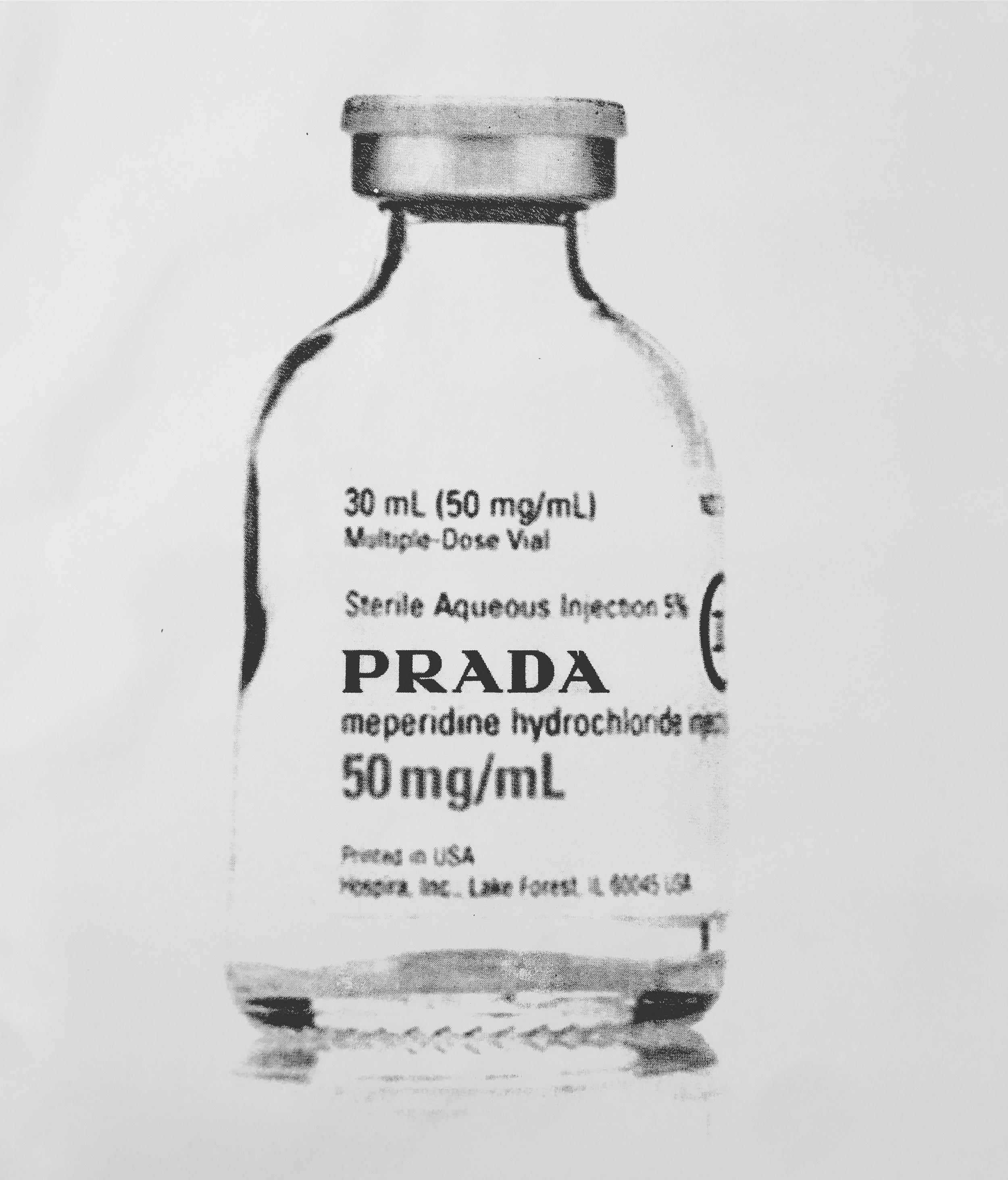 single dose of prada 1-3/3 - 24 x 36 Acrylic on Canvas, Jul '17OLIVER COLE GALLERY