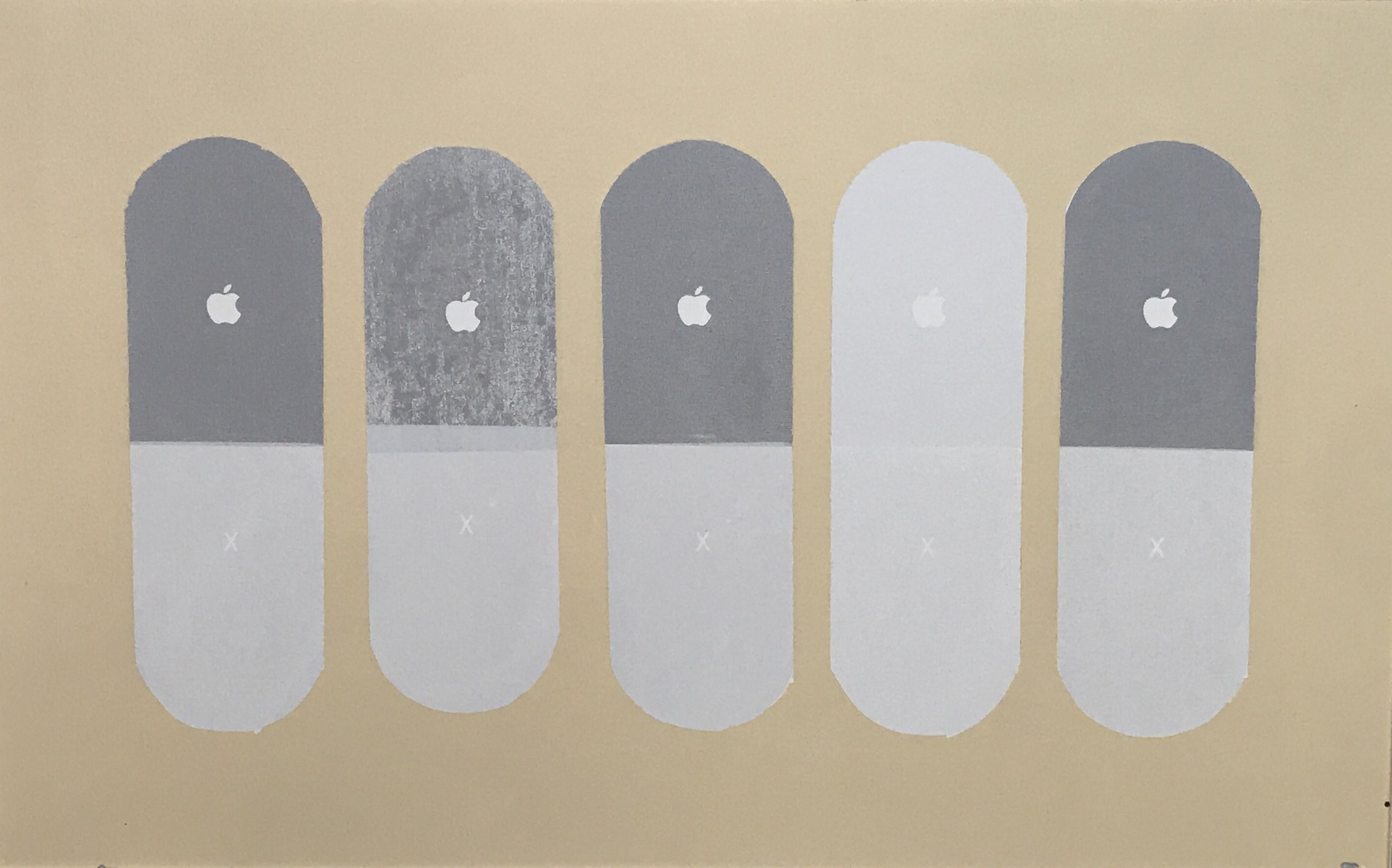 upgrade 1/1 - 36 x 22.5 Acrylic on Canvas, Nov '17Buyer Inquiry