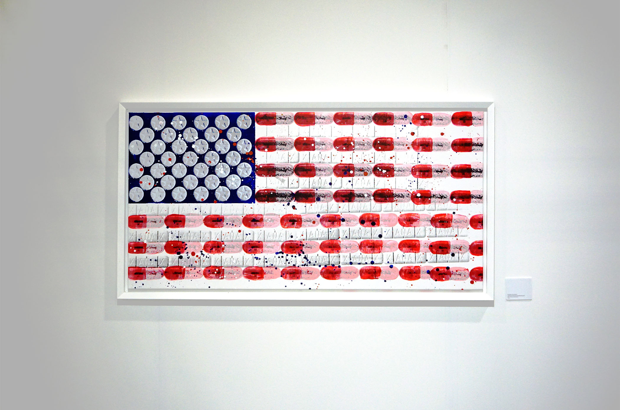 united states of pharmacology - Series of 5, 58 x 29, Acrylic on Canvas1 Available |Buyer Inquiry