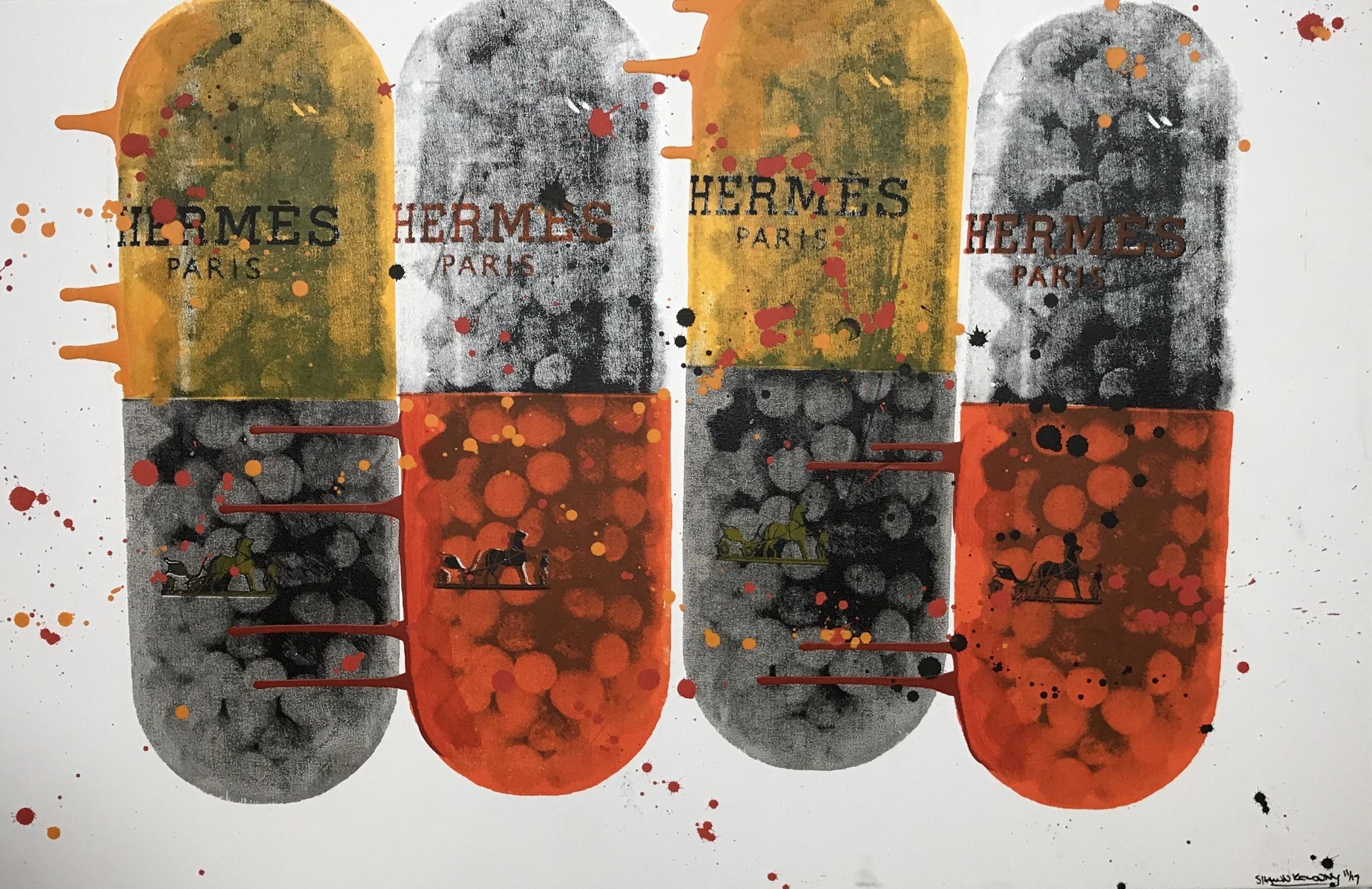 sideways 1/1 - 40 x 26, Acrylic on Canvas, Oct '17IMITATE MODERN