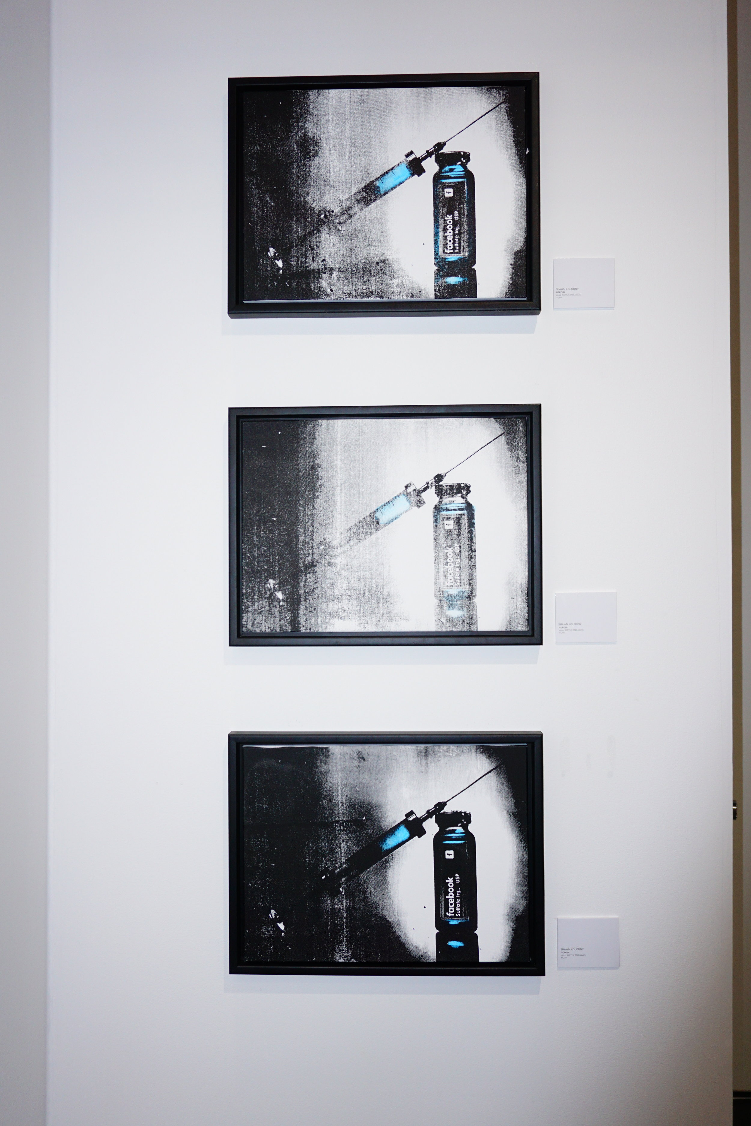 Addicted to Social, Addiction Collection - Artwork by Shawn Kolodny   Price Sheet