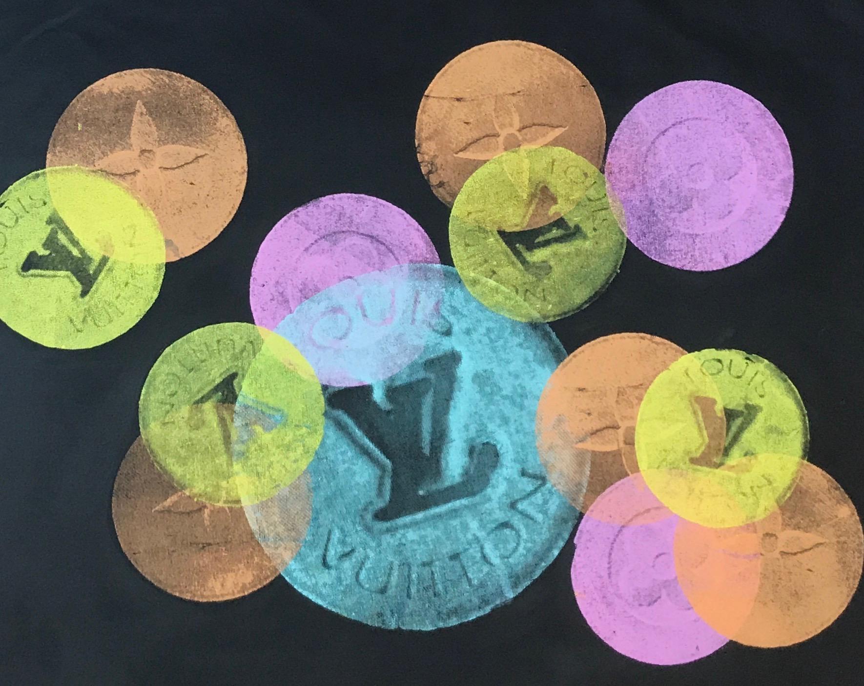 designer drugs - 36 x 24 Acrylic on Canvas, Sep '17SOLD