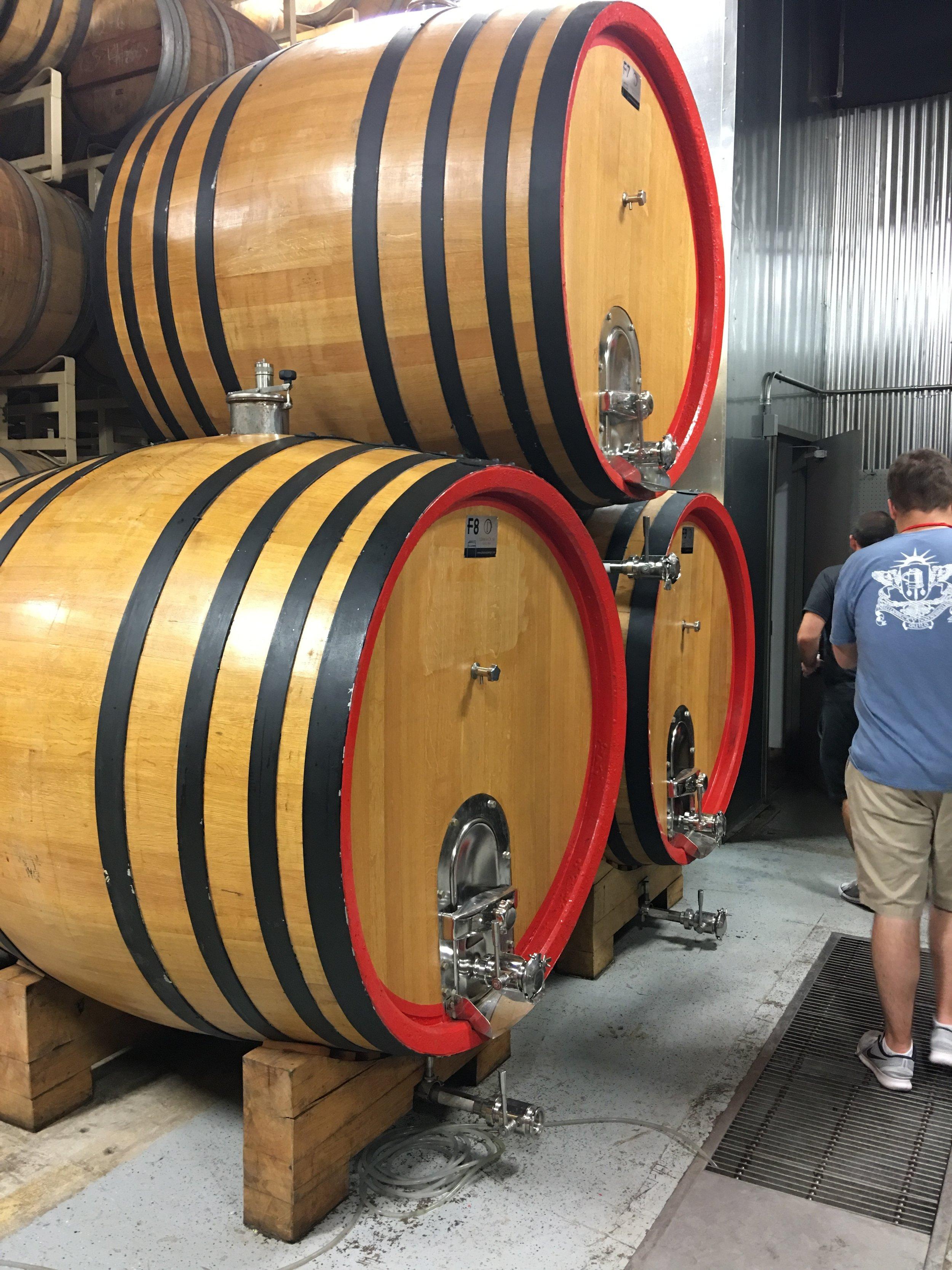 Wild barrels