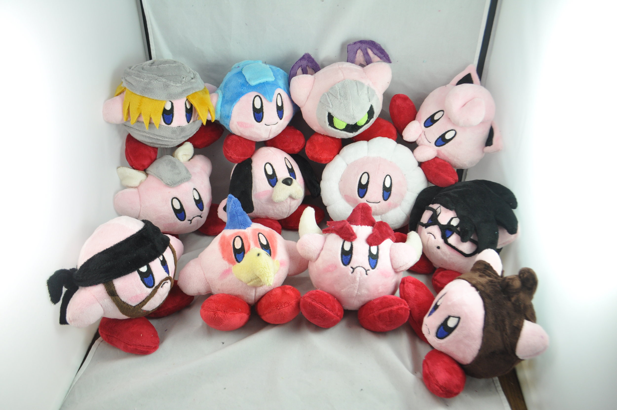 Kirby with copy abilities