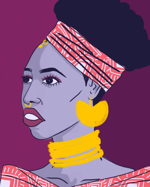 Purple Lady (2018)