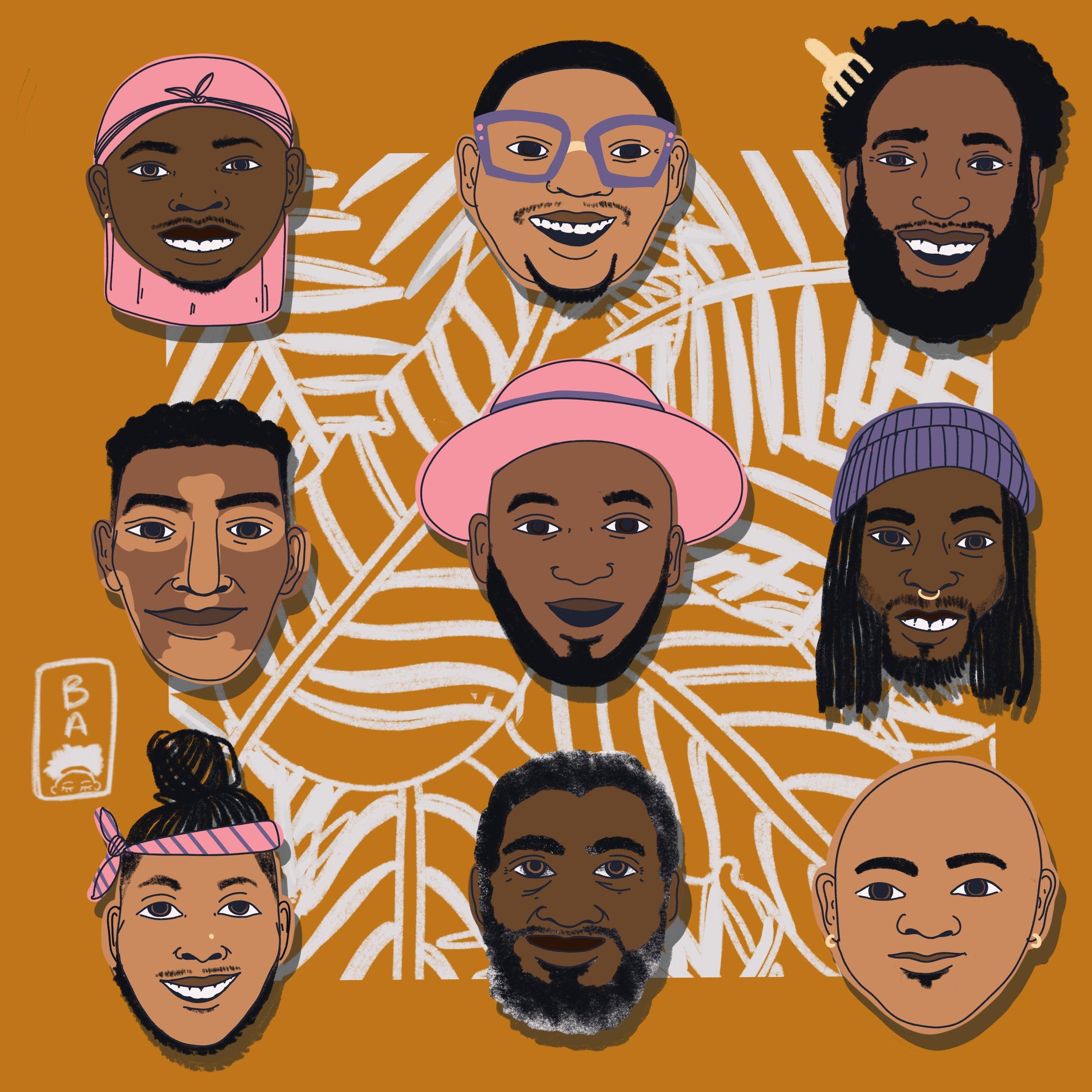 Black Men Smile (2018)