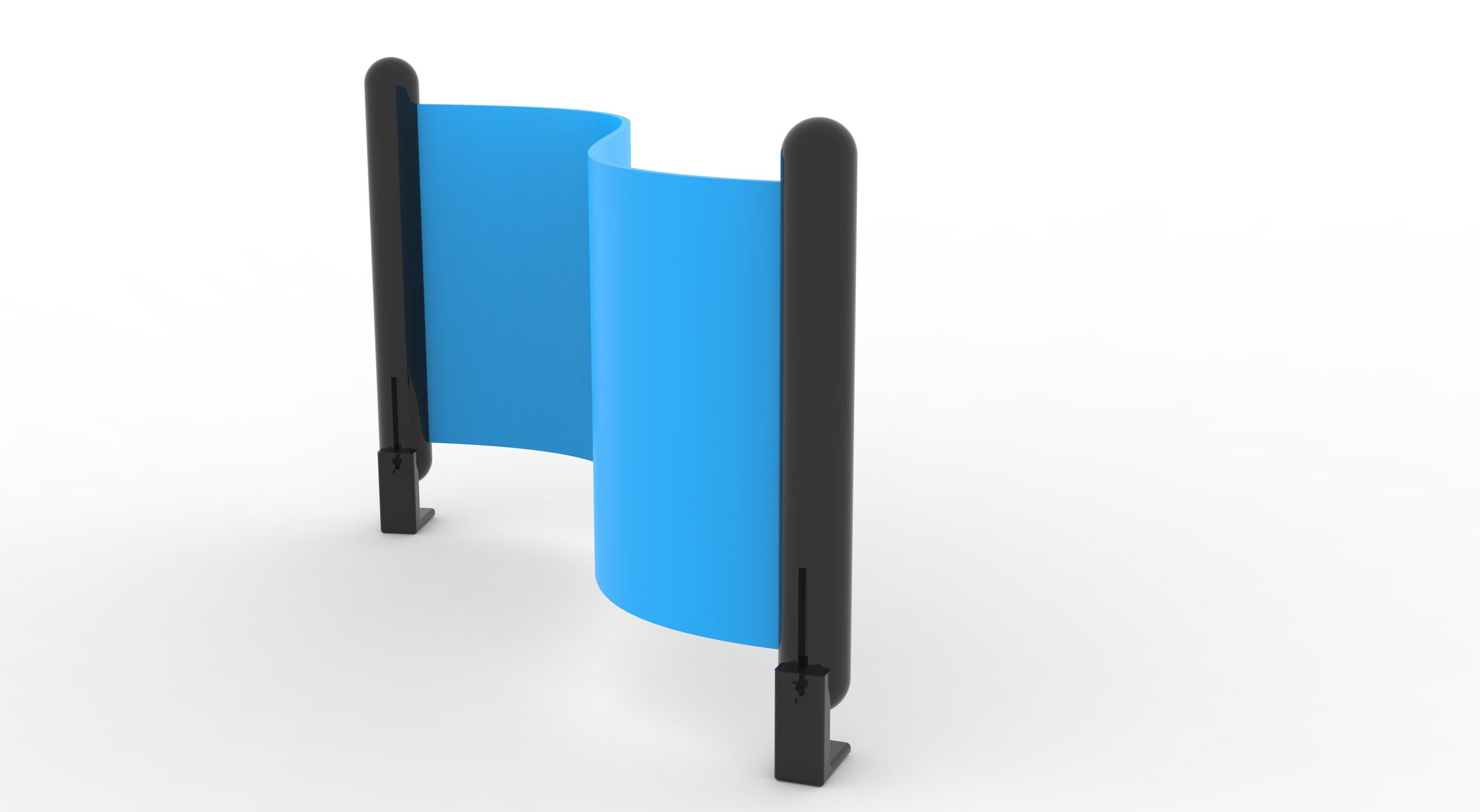 Party Supplies, Rapid Design Exercise:  Adjustable   Beer Pong Bumpers. (SolidWorks; Keyshot)