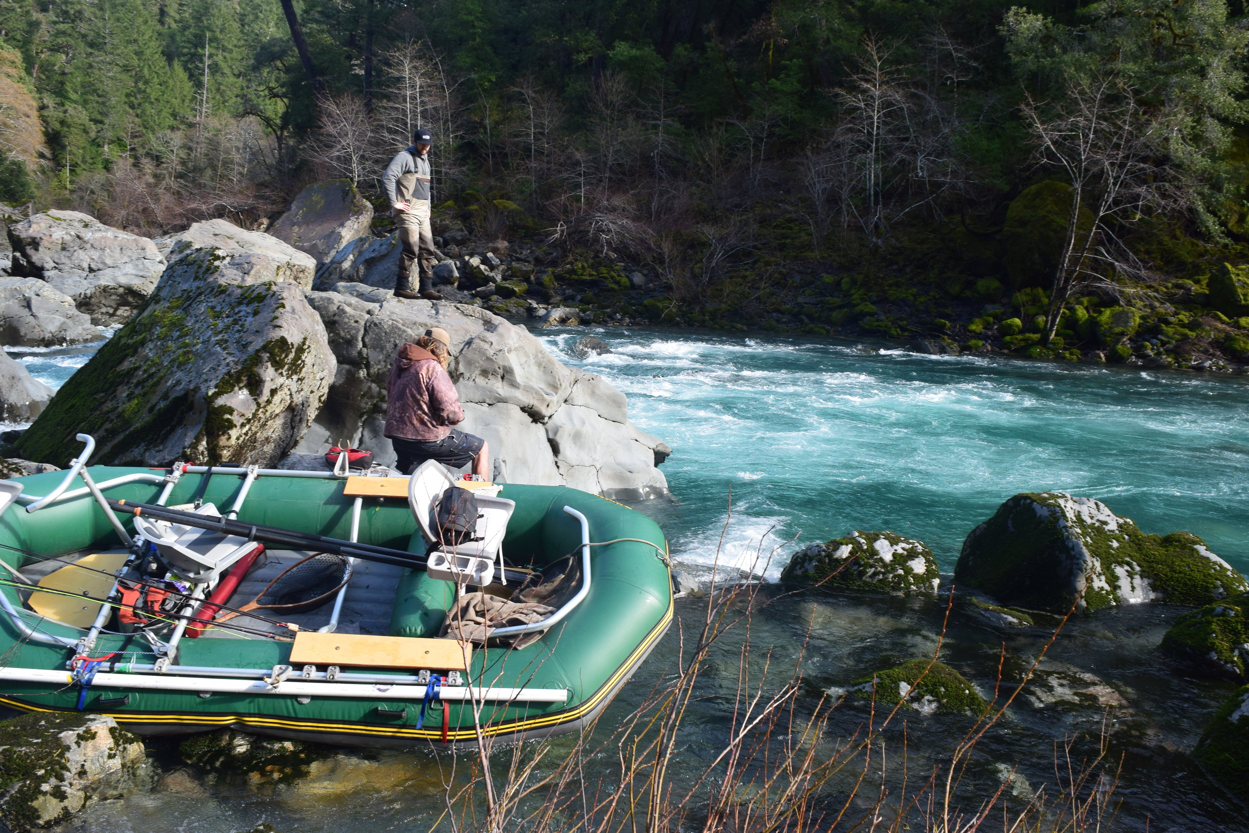 14' Odyssey Guide Raft or 18' Willie Drift Boat for float trips