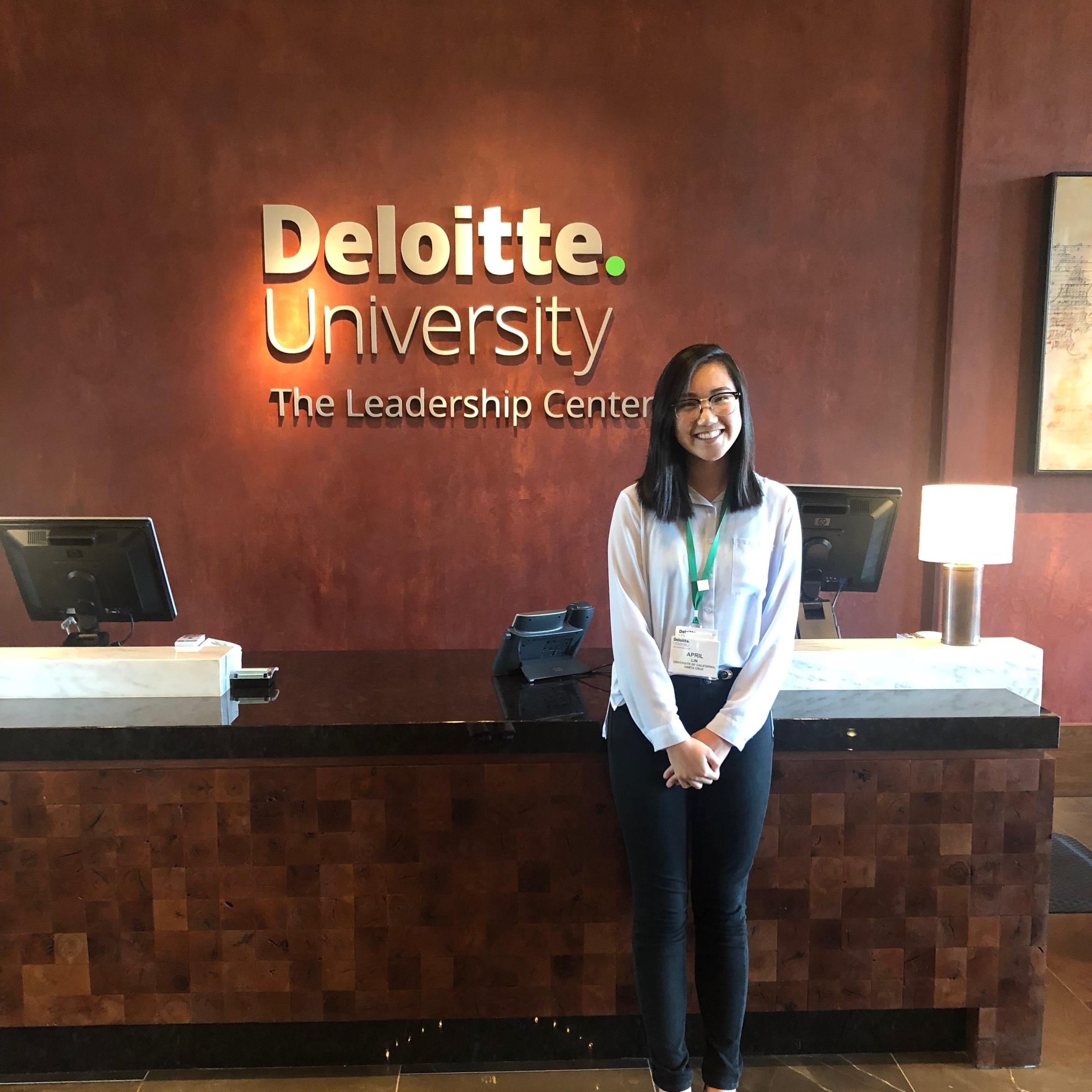 Deloitte  | April Lin