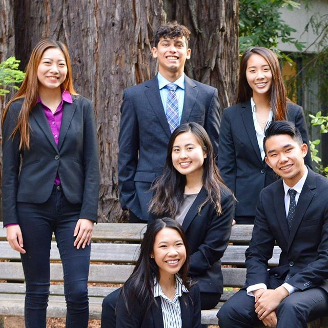 Introducing our Fall Executive Board! • Rebecca Le   President April Lin   Senior Vice President Justin Seo   VP Pledge Education Lisa Tanaka   VP Chapter Operations Michelle Chin   VP Finance Chaz Carl   Chancellor Dalanna Nguyen   VP Community Service Christine Liang   VP Scholarship & Awards Kasey Liang   VP Brotherhood & Social Development Samantha Teo   VP Professional Activities  Courtney Liang   VP Alumni Relations Jason Chan   VP External Affairs • We are excited to serve this term and welcome new members to our fraternity! For more information, check out our website in our bio! • T-minus six days until the first day of recruitment!