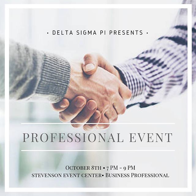 We have many esteemed companies like Google, Adobe, Plantronics, and many more coming to this event. This is your chance to connect and network with industry superstars, alumni, and our very own brothers who interned at various companies.  Can't wait to see y'all soon!
