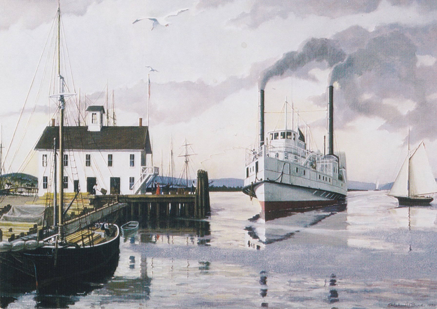 """Steamboat Dock"" - Richard Brooks"
