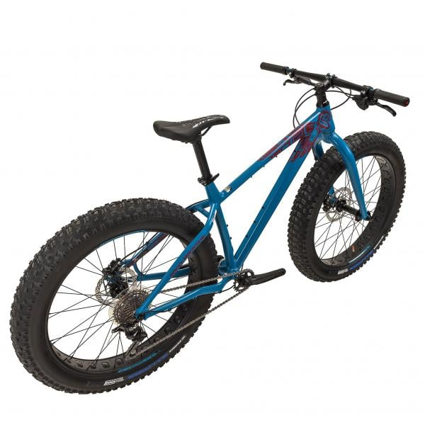 Fat tire bike for winter fat tire biking and summer mountain biking