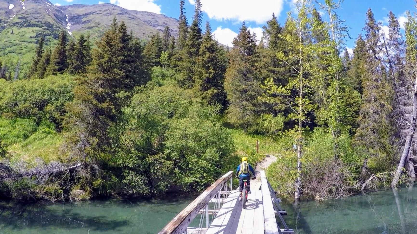 Mountain Bike tour in Kenai Penisula Cooper Landing Seward