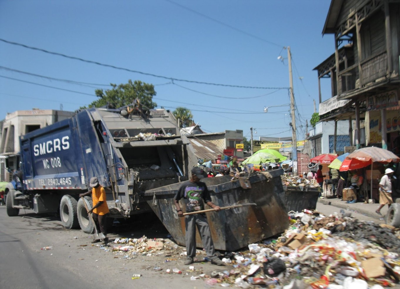 Although  there is effort being put forth in waste collection, there isn't a viable solution in place. Site dumping to then incinerate in the open environment is the current solution. With a proper solution in place jobs can be created to better manage the waste all the while creating much needed resources.