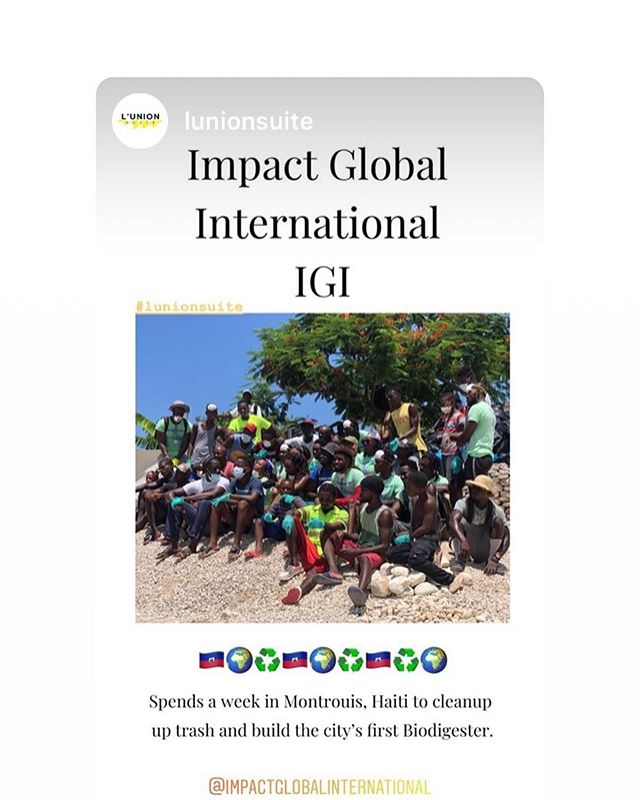 What a week in Haiti! Here's a few recap SLIDE LEFT TO WATCH. 🎥 @gabisoux_ @lunionsuite We cleaned up a whole community! And cleaned the whole river! We went with a purpose and executed it! If you want to be an ambassador with IGI message us. This is bigger than us! We want everyone to clean their community. It starts with YOU #vision #diaspora #haiti #2019 #igi_haiti #wastenotime