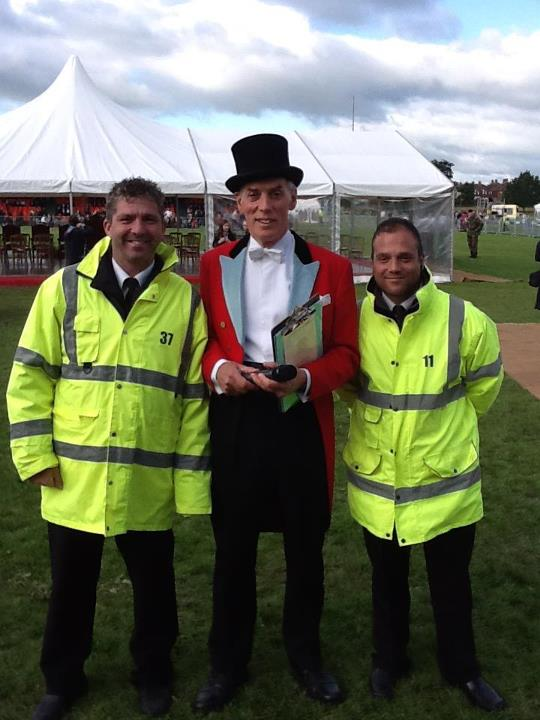 Herefordshire 'Diamond Day'; Chris Barltrop prepares to entertain HM The Queen