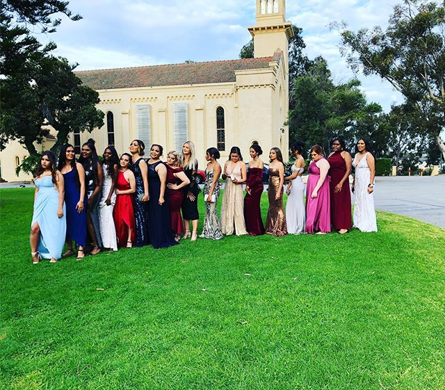 Exciting day yesterday for the girls at Clontarf Aboriginal College going to there school ball . @artico_hair_perth was right in there volunteering there hair up skills to make them feel beautiful 🥰