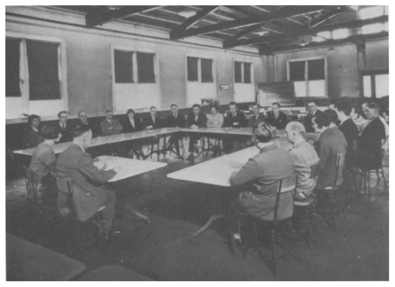 A Columbia Conserve Council Meeting, circa 1920s (Bussel 1997; crediting The Lilly Library, Indiana University, Bloomington, Indiana).jpg
