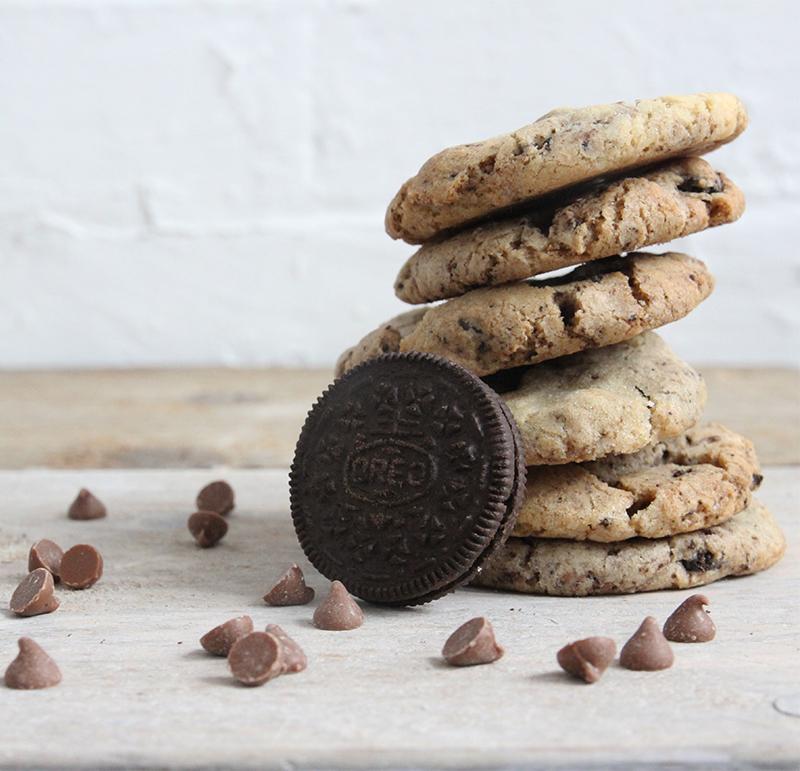 Oreo flavour cookies